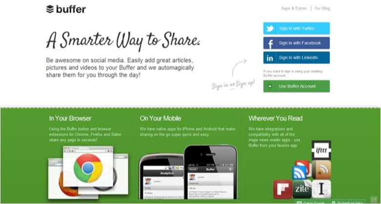 buffer Re plug: 5 Twitter Tools to Increase Productivity
