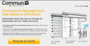 communit 300x153 Re plug: 5 Twitter Tools to Increase Productivity