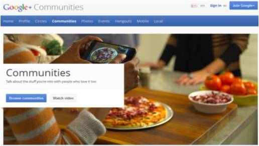 Google+ Communities 5 ways to leverage Google+ Communities