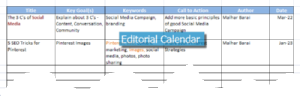 Editorial Calendar 300x96 Top 5 Reasons to have an Editorial Calendar