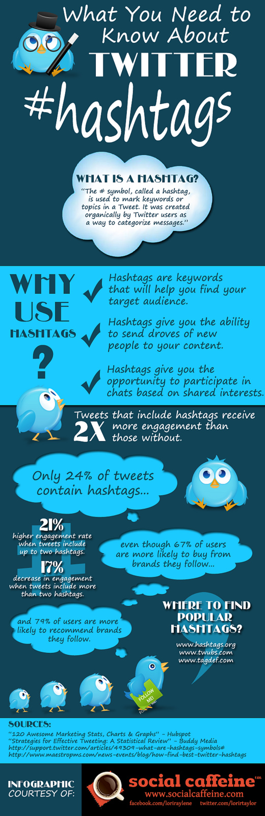 Twitter Hashtag The Anatomy of Twitter Hashtag [Infographic]