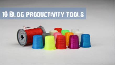 Blog Productivity Tools