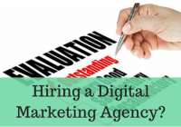 digital marketing agency Question