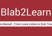 Blab2Learn Leena Bansal Solo Travel