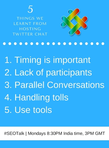 list of things twitter chat