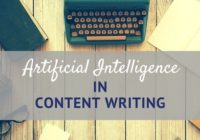 artifical intelligence in content writing