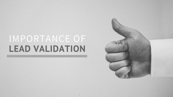 importance of lead validation